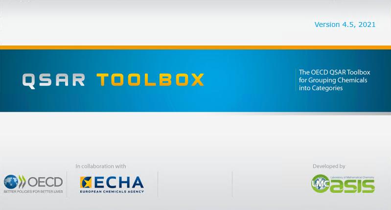 TB45 initialization window - QSAR Toolbox